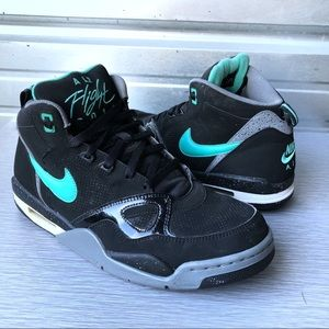 Nike | Air Flight '13 Mid Black Crystal Mint Sklep